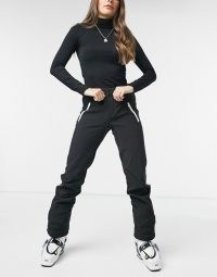 Protest Coco ski pant in black ~ ski pants ~ winter sportswear clothing ~ sports trousers