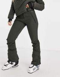 Protest Lole softshell ski pant in grey ~ winter sports clothing ~ ski pants ~ cold weather sportwear