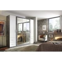 New Town Extra 5 Door Wardrobe by Rauch – bedroom furniture – storage space