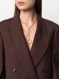 Timeless Pearly pearl circle pendant necklace – longline pendant necklaces