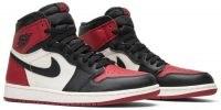 Air Jordan 1 Retro High OG 'Bred Toe' – GOAT