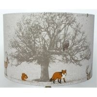 Shelva Cotton Drum Lamp Shade by Alpen Home