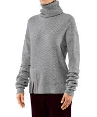 FALKE Audrey Women Pullover Roll-neck Merino wool/cashmere mix | high neck jumpers | luxe wool and cashmere pullovers