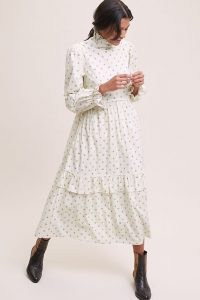 Meadows Lucerne Midi Dress – high neck victoraian style dresses