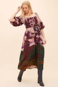 Bl-nk Tie-Dye Midi Dress