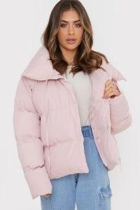BILLIE FAIERS PINK PUFFER JACKET ~ padded winter jackets ~ celebrity inspired outerwear