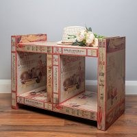 McQuitty Wood Storage Bench by Bloomsbury Market