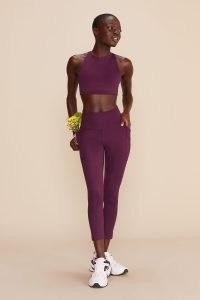 Girlfriend Collective Plum High-Rise Pocket Legging Color: – Multicolor – Size: – XXXL