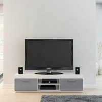 Edgeware TV Stand – sleek and stylish design will look stunning in any style living room thanks to it's high gloss facial