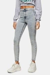 Topshop Extreme Bleach Acid Joni Skinny Jeans | high rise skinnies