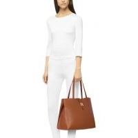 FURLA SOFIA Tote L Cognac H ~ brown leather bags ~ essential day accessories