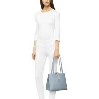 FURLA SOFIA Tote Avio Light G ~ blue leather bags