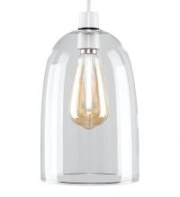 Kira Domed 16cm Glass Oval Pendant Shade by George Oliver