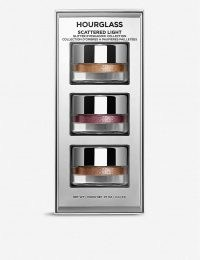 HOURGLASS Scattered Light mini glitter eyeshadows set of three ~ shimmering party eyes ~ eyeshadow sets ~ glittering make-up ~ evening cosmetics