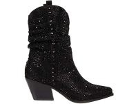 Jessica Simpson Zellya embellished western boot in black ~ glittering crystal covered boots