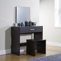 Julia Dressing Table Set – features a large drawer with metal drawer runners and modern handle