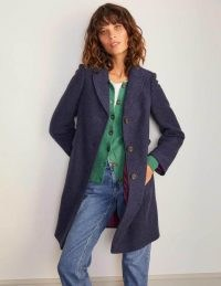 Boden Knight Coat – Navy / smart dark blue coats