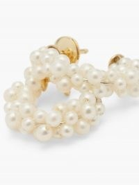 YVONNE LÉON Lady Pearl 18kt gold earrings / feminine jewellery / pearls