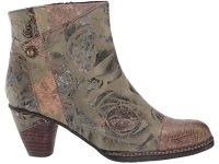 L'Artiste by Spring Step Waterlily hand-painted boot ~ floral boots