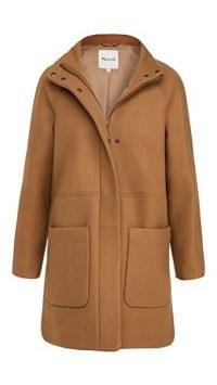 Madewell Estate Cocoon Coat ~ camel brown winter coats