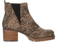 MIA Jody-F pull-on ankle boot in cheetah ~ animal print boots