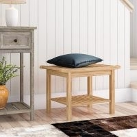Shea Bamboo Storage Bench by Natur Pur