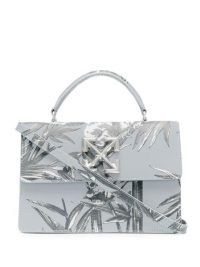Off-White palm tree pattern crossbody bag | printed top handle bags