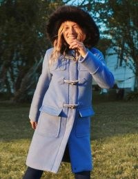 Boden Orme Duffle Coat / blue winter hooded coats