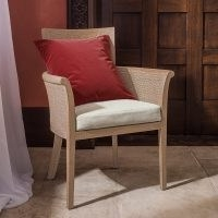 Ormoy solid oask dining chair