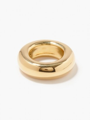ANA KHOURI Phillipa 18kt gold ring ~ chunky contemporary bands ~ modern rings ~ fine jewellery
