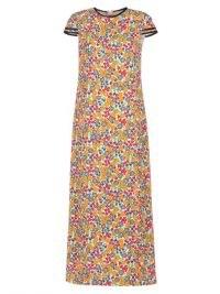 MARNI Pop Garden Lily floral-print poplin maxi dress