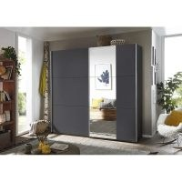 Santiago 2 Door Sliding Wardrobee by Rauch – what a wonderful wardrobe. Handy having the full length mirror