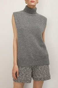 storets Norah High Neck Sleeveless Knit Top