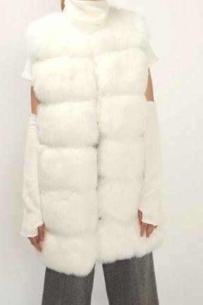 STORETS Amelia Fluffy Faux Fur Vest / pelted gilets