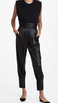 Retrofete Jazmine Pants ~ black evening trousers ~ party fashion