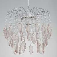 Jewelled Waterfall Easy Fit 27cm Acrylic Novelty Pendant Shade by Rosdorf Park