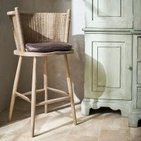 Taino Bar Stool – Natural – lovely for a cottage