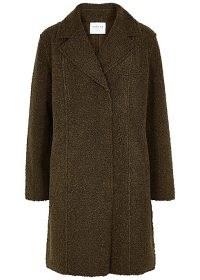 VELVET BY GRAHAM & SPENCER Meryl reversible faux shearling coat | textured winter coats