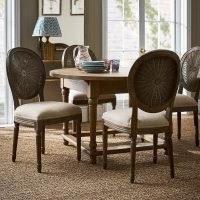Washakie Beige Linen Chair