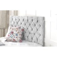 Crushed Upholstered Headboard by Willa Arlo Interiors