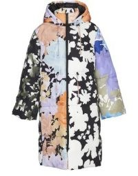 STINE GOYA Oak down jacket ~ multicoloured quilted winter coats
