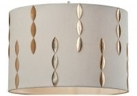 30.5cm Faux Leather Drum Pendant Shade by World Menagerie