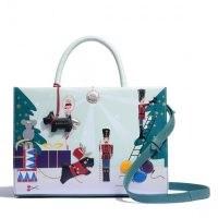 REDLEY LITTLE DRUMMER DOG | printed christmas themed handbag