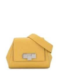 Bottega Veneta yellow mini belt bag | chic bumbags