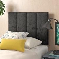 Ernestine Crushed Velvet Upholstered Headboard by Zipcode Design