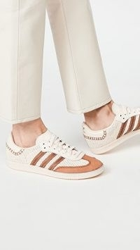 adidas x Wales Bonner Samba Sneakers / neutral trainers