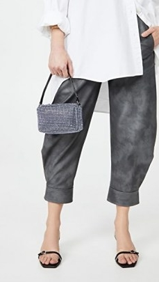 Alexander Wang Heiress Medium Pouch ~ mini rhinestone bags