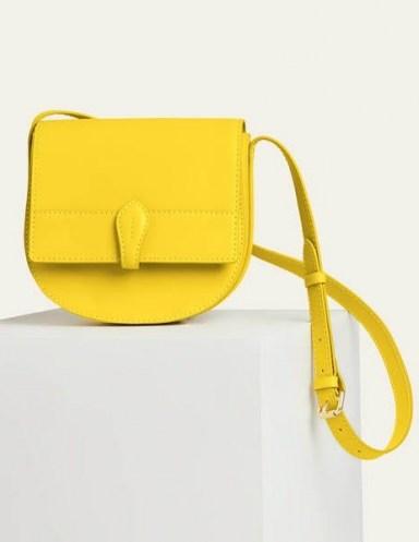 Boden Alice Satchel – Chartreuse | bright crossbody - flipped