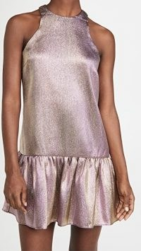 Amanda Uprichard Ezra Dress ~ shimmering purple party dresses