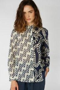 Camilla Perkins X Gorman AQUARIUS SPLICE SHIRT – mixed print shirts